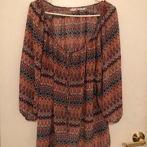 Max Studio sheer blouse